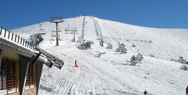 Estación de esquí de Navacerrada. Esquí en Sistema Central ...